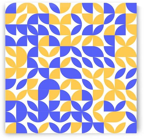 Geometric Pattern Art by rizu_designs