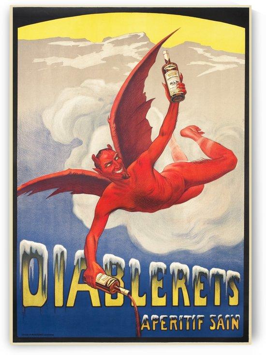 Diablerets Aperitif Sain by VINTAGE POSTER