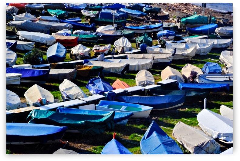 Genoa boats  by Giulio Bardelli