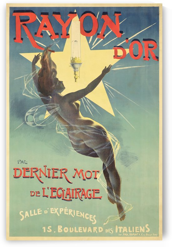 Rayon dOr by VINTAGE POSTER
