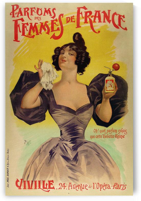 Parfums de femmes de France by VINTAGE POSTER