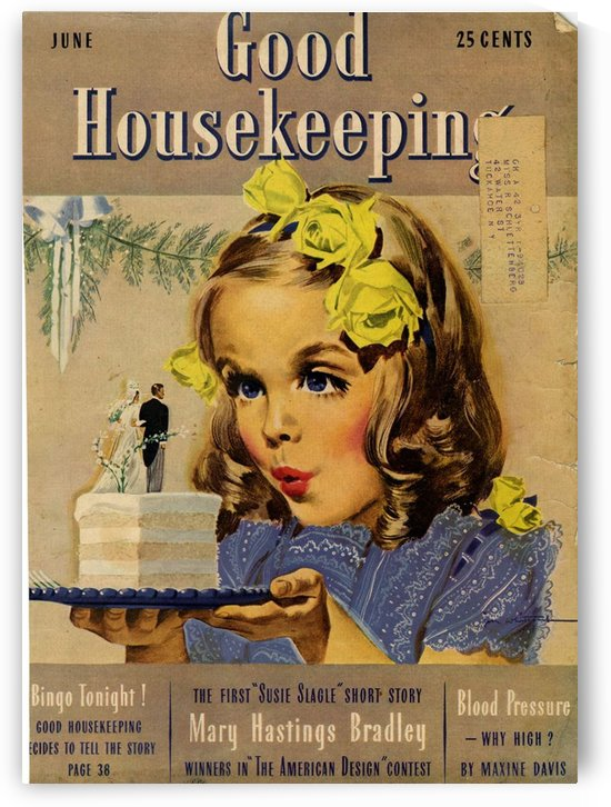 Good Housekeeping, June by VINTAGE POSTER