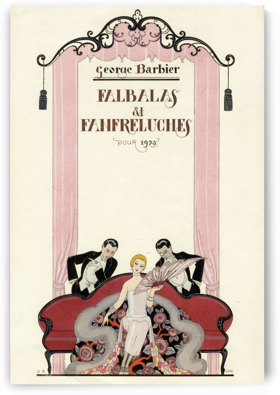 Falbalas et Fanfreluches 1925 by VINTAGE POSTER
