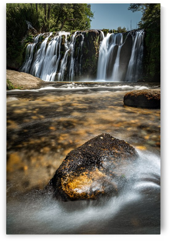 Nivinco waterfall Patagonia by Francisco Rizzuti