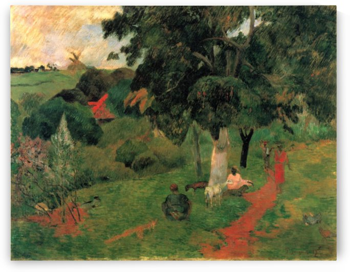 To and Fro by Gauguin by Gauguin