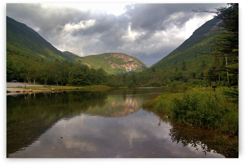Storm Clouds Over Willey Pond by Bob McCulloch