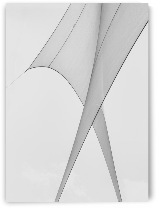 Abstract Sailcloth 3 by Bob Orsillo