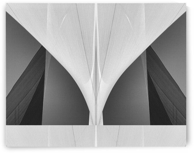 Abstract Sailcloth 1 by Bob Orsillo