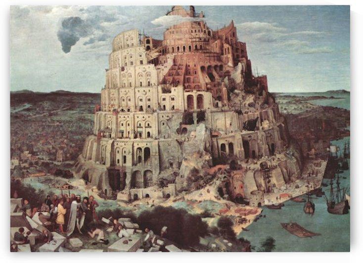 Tower of Babel -3- by Pieter Bruegel by Pieter Bruegel