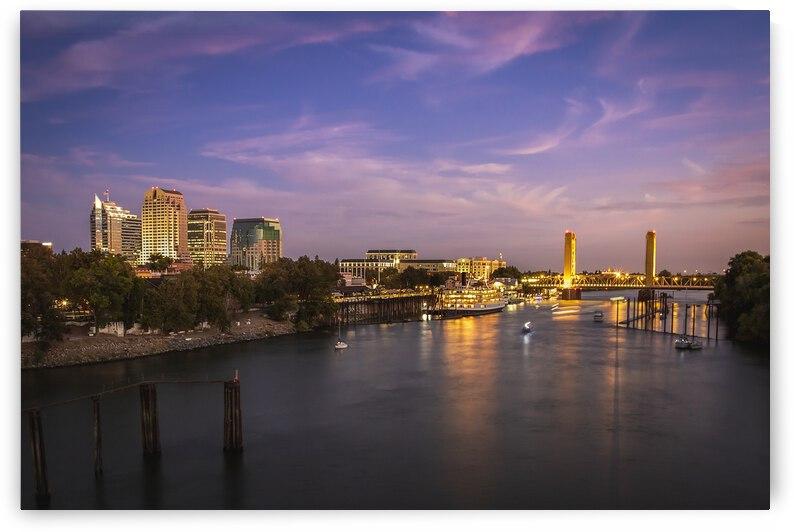 Sacramento Twilight by Gary Geddes