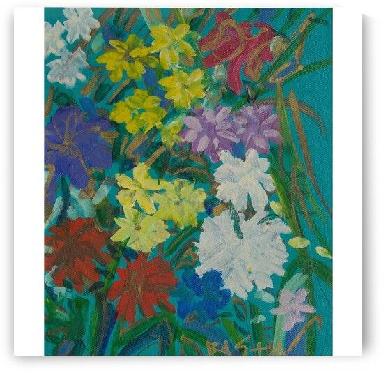 Flower Garden by Abe Mashinsky