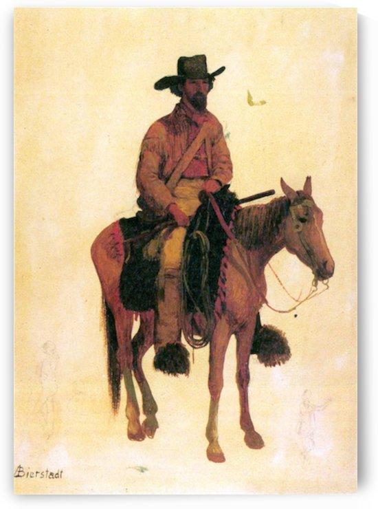 Trapper by Bierstadt by Bierstadt