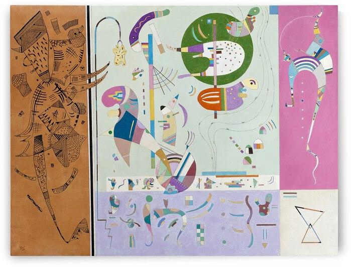 Kandinsky Parties diverse 1940 by TOPARTGALLERY