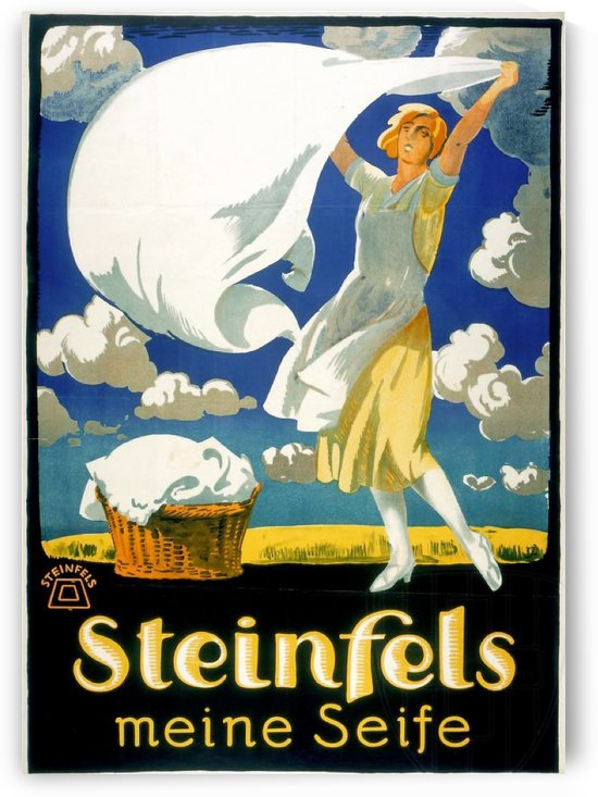 Steinfels Meine Seife by VINTAGE POSTER