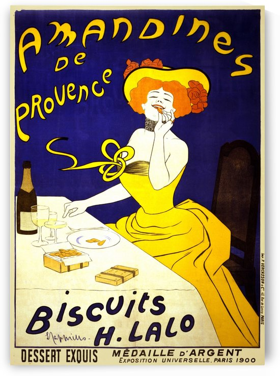 Amandines de Provence Biscuits Poster by VINTAGE POSTER