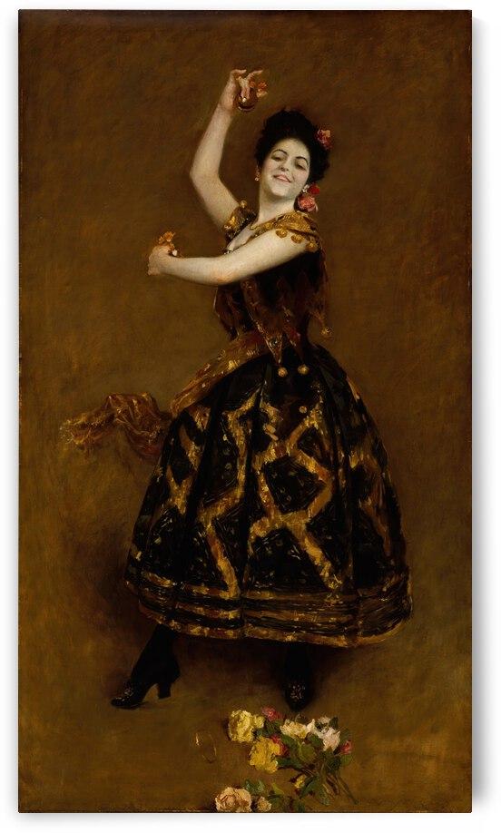 William Merritt Chase Carmencita  1890  by TOPARTGALLERY