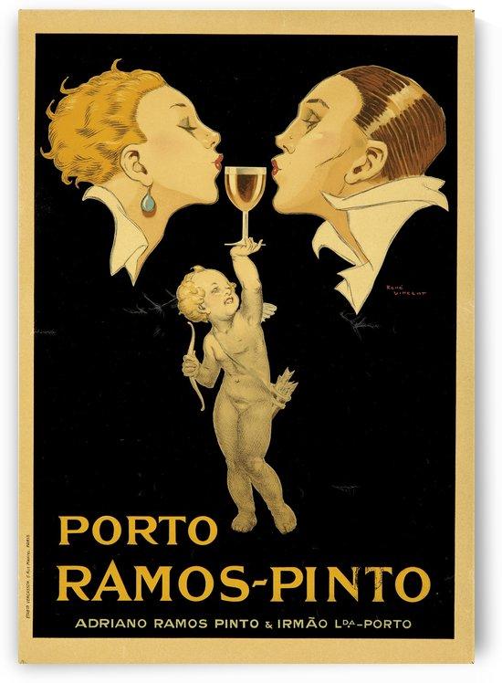 Porto Ramos - Pinto Original Poster by VINTAGE POSTER