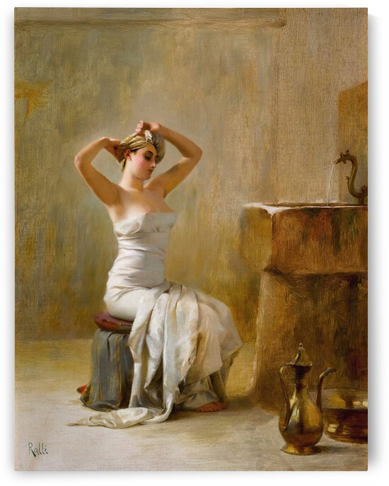 Theodoros Ralli After The Bath by TOPARTGALLERY