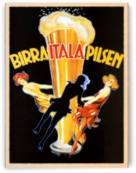 Birra Itala Pilsen by VINTAGE POSTER