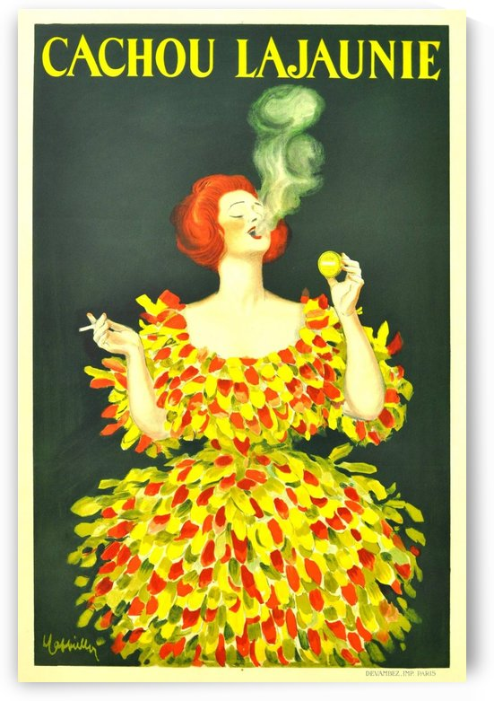 Cachou Lajaunie by VINTAGE POSTER