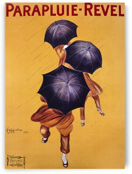 Vintage Poster Parapluie Revel by VINTAGE POSTER