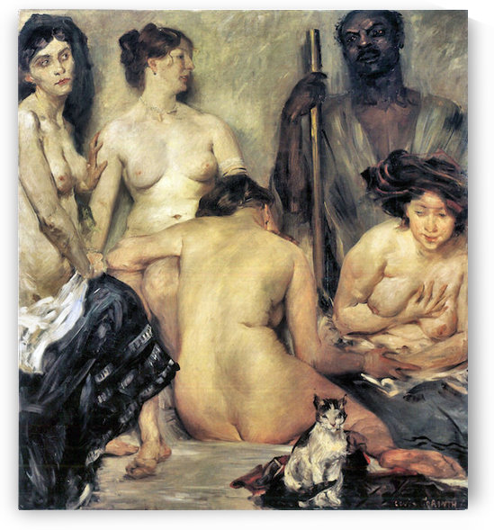 The Harem by Lovis Corinth by Lovis Corinth