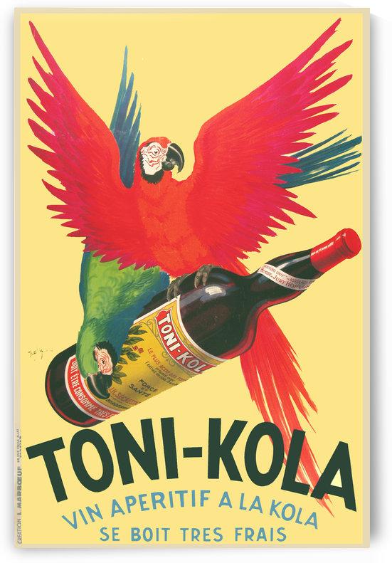 Toni Kola Original Poster by VINTAGE POSTER