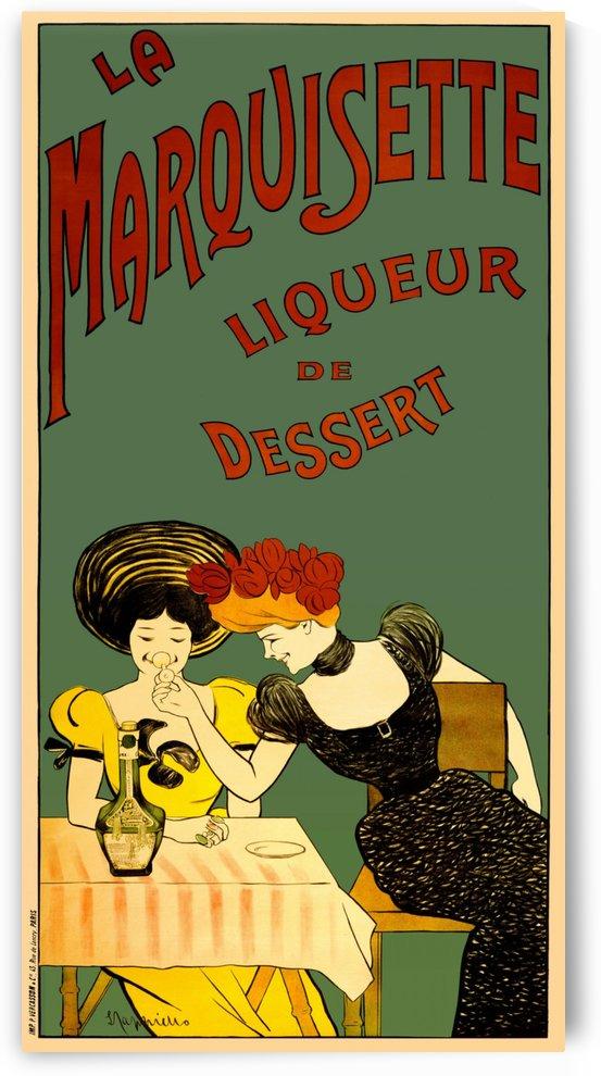 Le Marquisette - Liqueur de dessert by VINTAGE POSTER