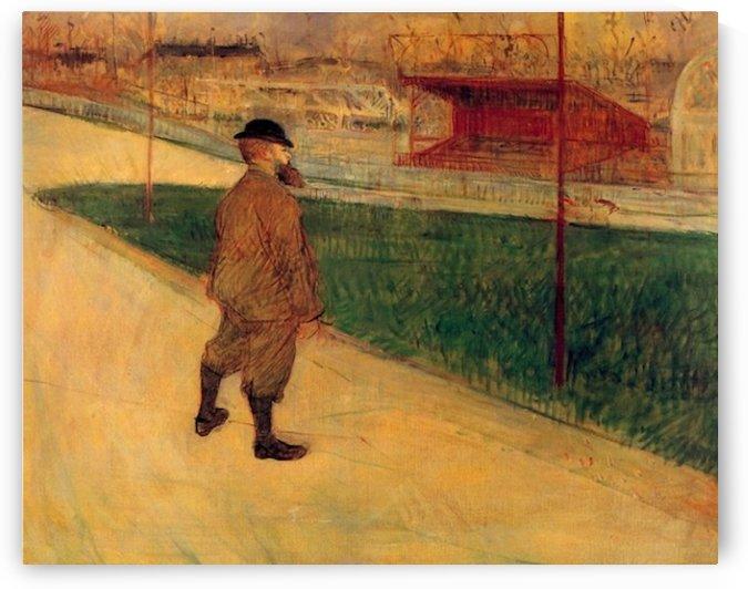 Tristan Bernard by Toulouse-Lautrec by Toulouse-Lautrec