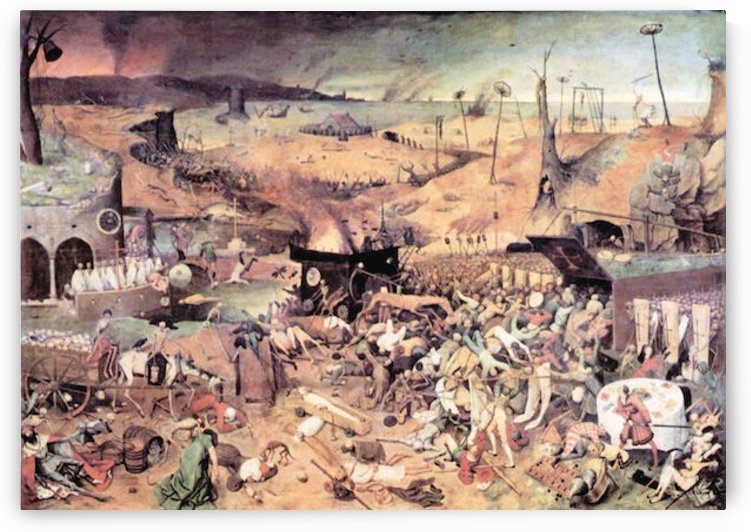Triumph of Death by Pieter Bruegel by Pieter Bruegel