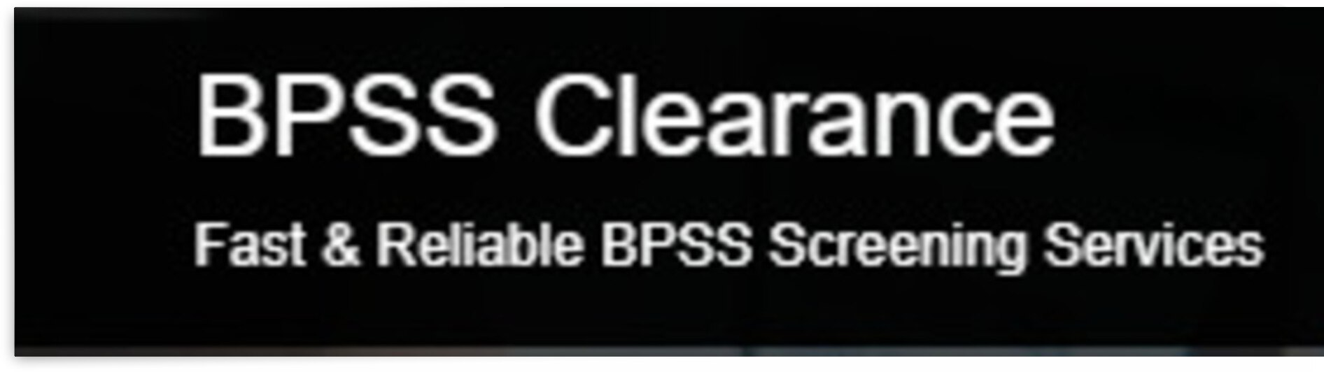 bpss logo by bpssclearance