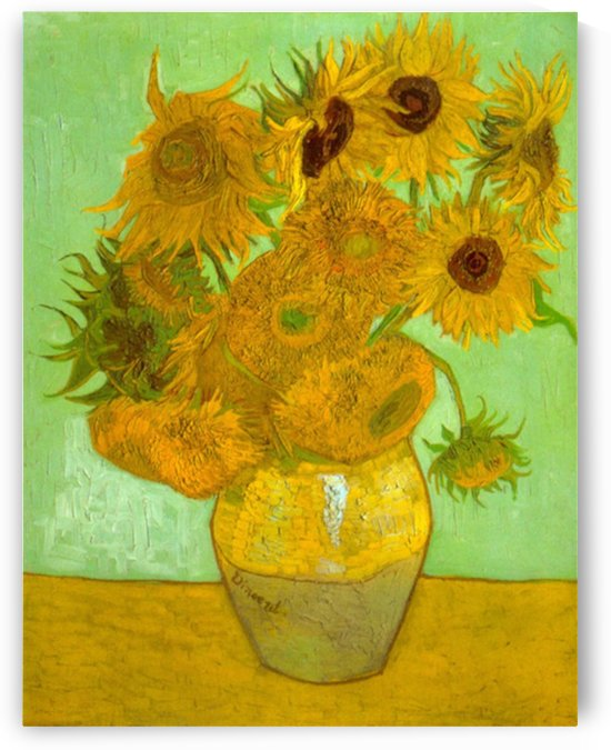 Twelve Sunflowers by Van Gogh by Van Gogh
