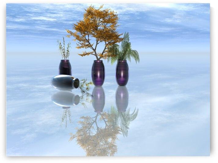 rendu 3D The vase turned upside down by ch Ragaine