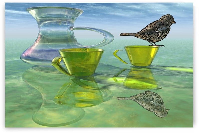 rendu 3D Tea time by ch Ragaine