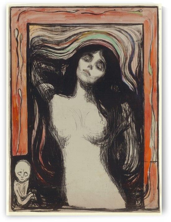 Edvard Munch Madonna  1895   1896  by TOPARTGALLERY