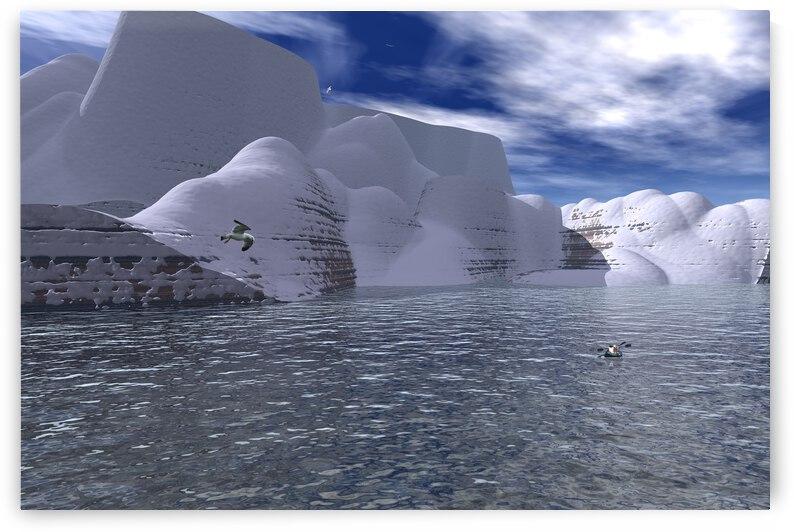 citadelle de glace by ch Ragaine