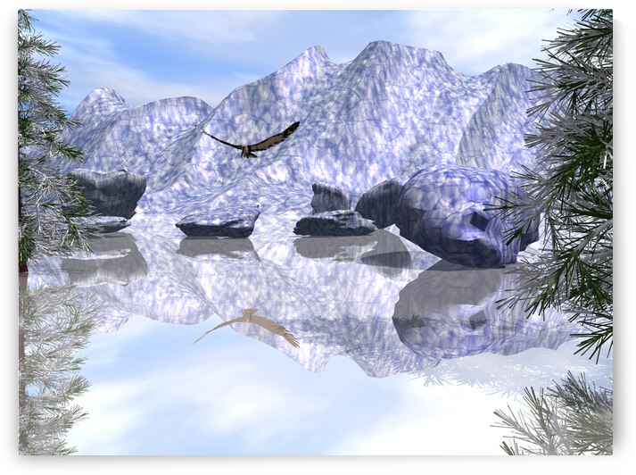 Le lac gel   by ch Ragaine
