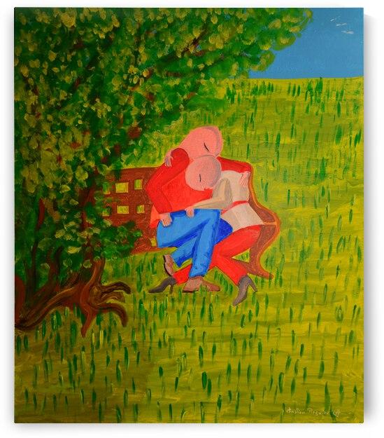 les amoureux by ch Ragaine