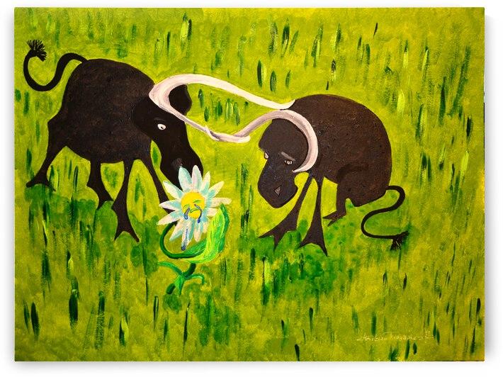 la derniere fleur by ch Ragaine