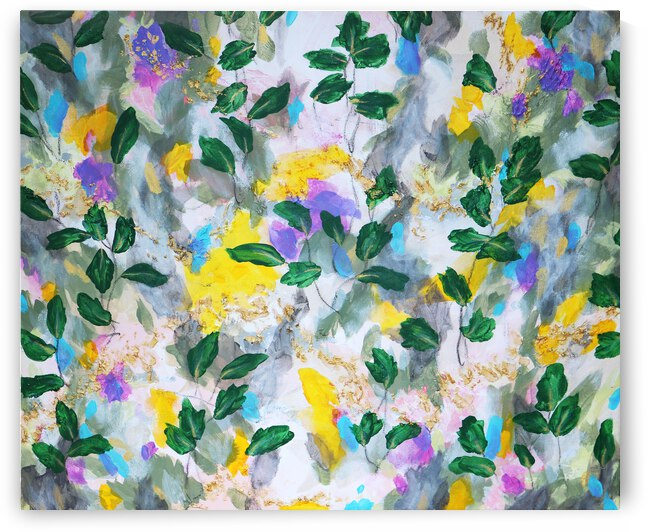 Spring in My Step by Connie Schofield Art