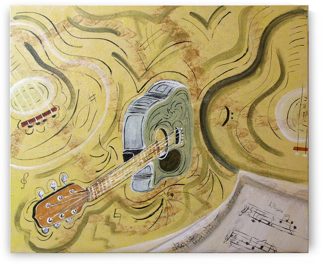 notes et guitare 19P 2006 by ch Ragaine