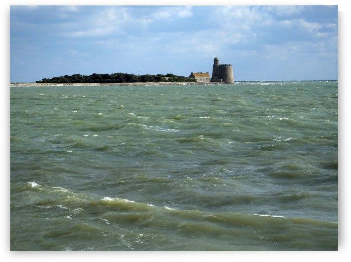 Vauban Tower on Tattihou island ile de Tattihou et sa tour Vauban by ch Ragaine