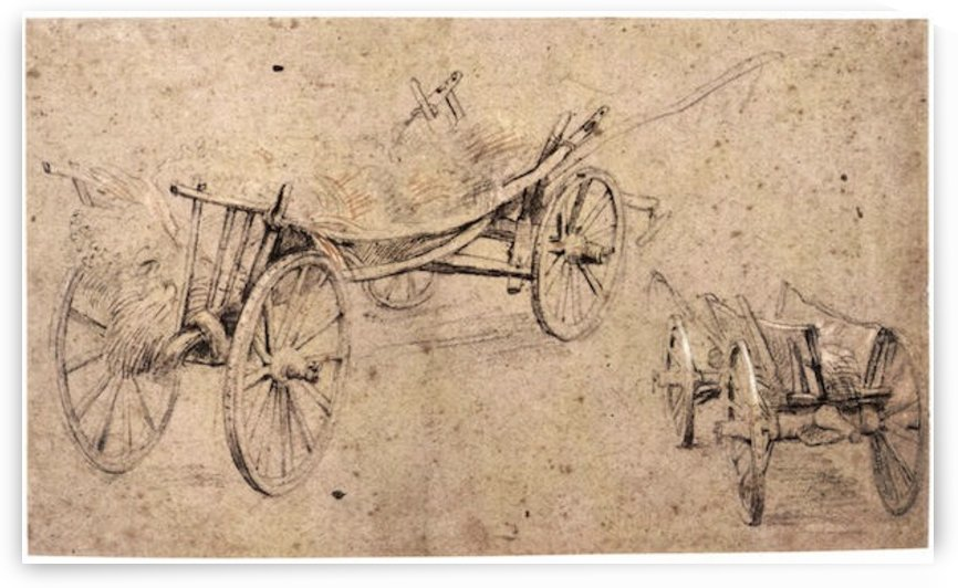 Two farm wagon by Rubens by Rubens