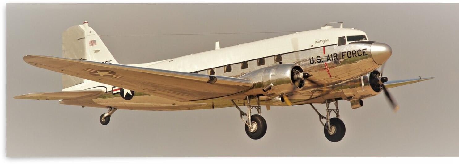 USAF Douglas C47 Airplane by Cameron Wilson Photos
