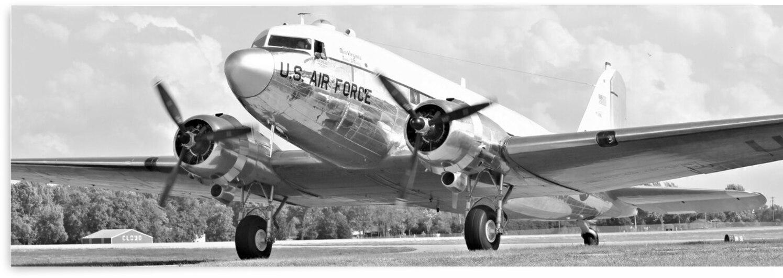 Douglas C47 Airplane by Cameron Wilson Photos