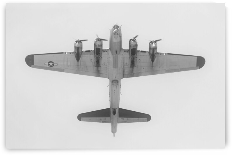 Boeing B17 Flying Fortress Airplane by Cameron Wilson Photos