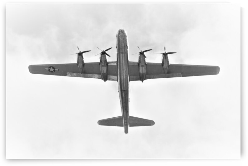 Boeing B29 Superfortress Doc Airplane by Cameron Wilson Photos