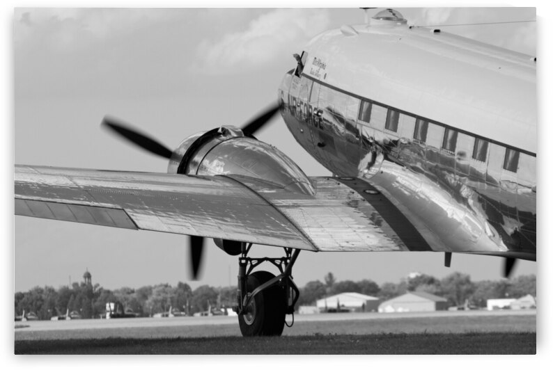 USAF Douglas C-47 Airplane United States Air Force by Cameron Wilson Photos