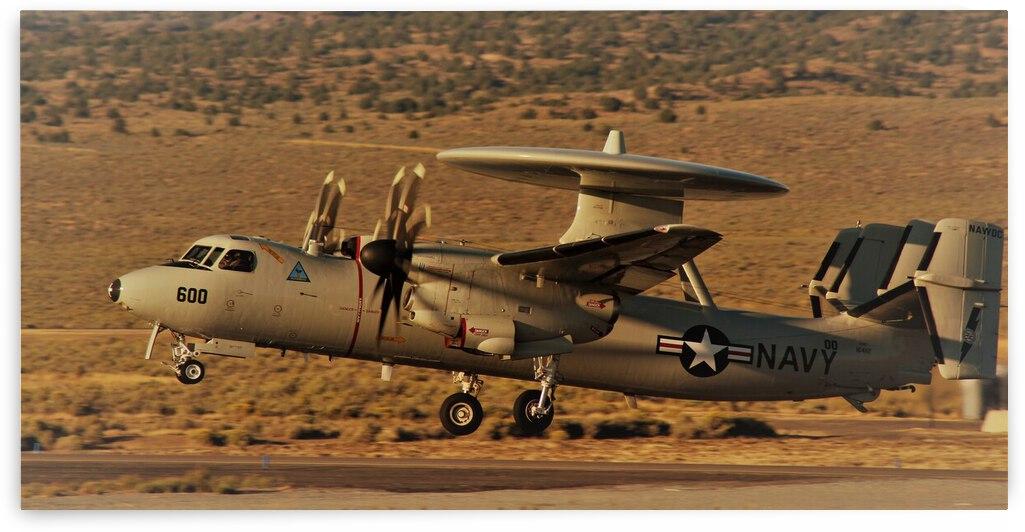 US Navy E2C Hawkeye Airplane by Cameron Wilson Photos