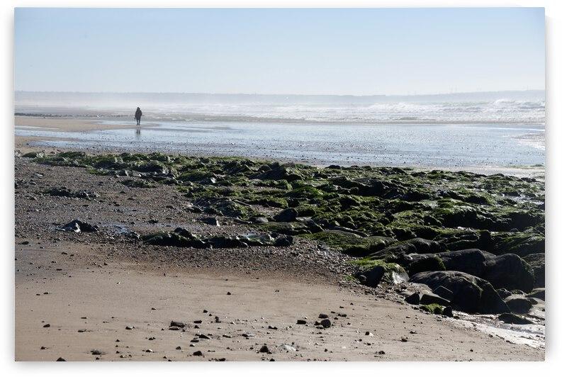 Seul sur le sable by ch Ragaine